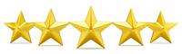 5 ot of 5 rating